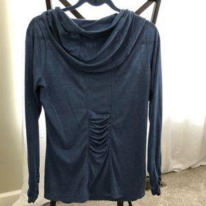 Women's Gaiam  YOGA shirt warm cozy warm up shirt
